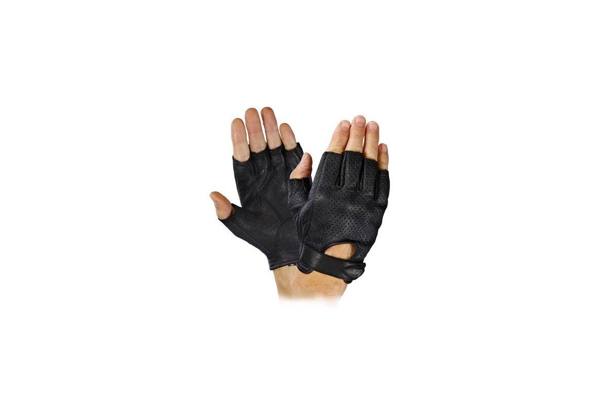 SQ Road 66 kožené rukavice bez prstů 3d621e6dec