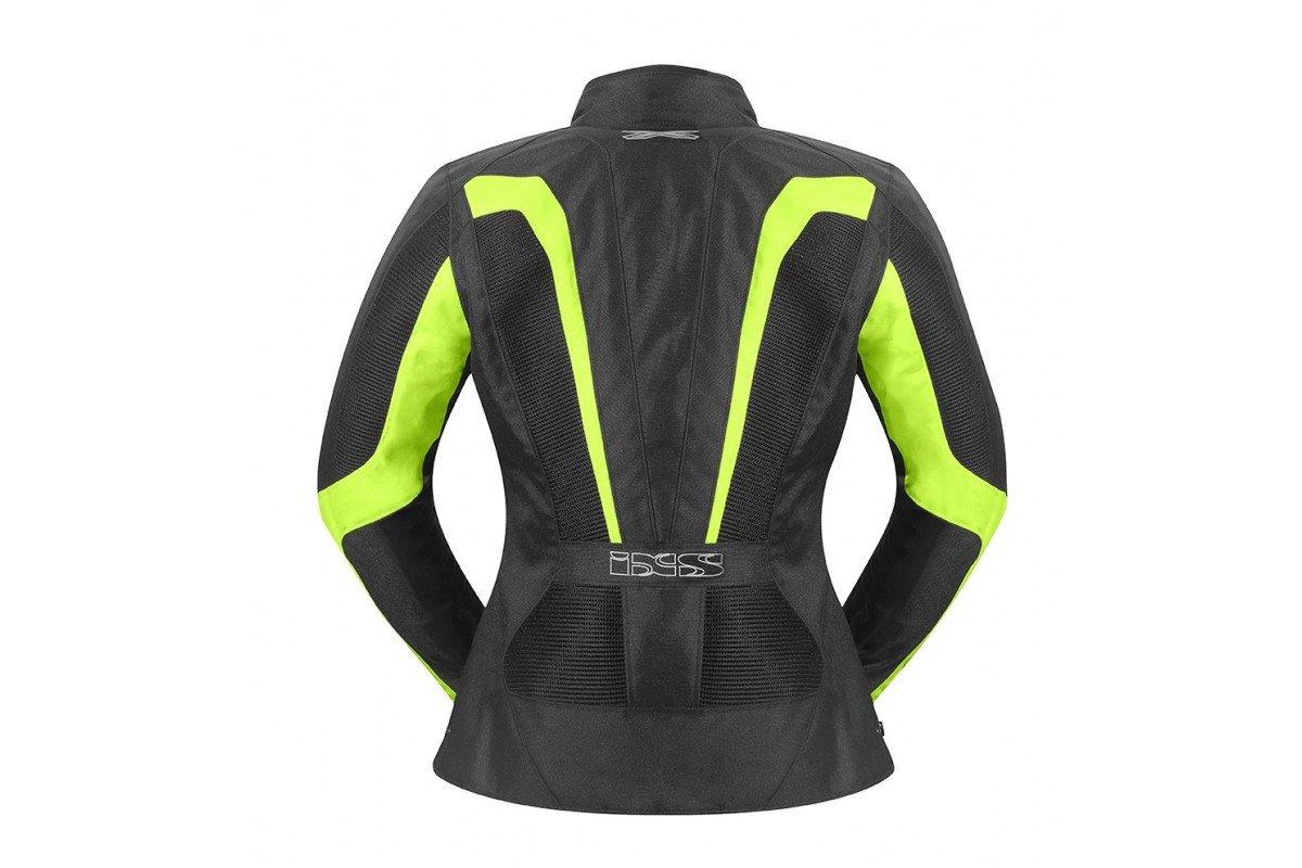 IXS LARISSA dámská letní černo-žlutá textilní bunda na motorku. ‹ › 3fd80a5dec