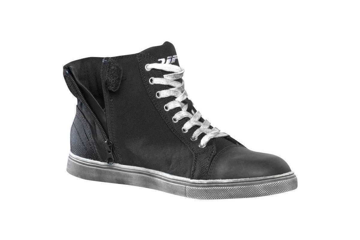 c474c9f9a1a3 DIFI Skip černé kotníkové boty na motorku