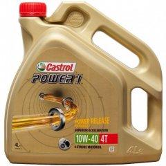 Castrol Power 1 4T 10W40 4 litry, olej pro motorky