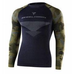 Termoaktivní tričko Rebelhorn Freeze Camo, maskáčové termoprádlo s dlouhým rukávem do horka