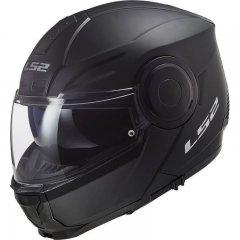 LS2 FF902 SCOPE SOLID MATT BLACK vyklápěcí přilba na motorku