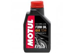 MOTUL Fork Oil Factory Line 10W 1L, olej do tlumičů medium KAWASAKI KX 65 rok 00-16
