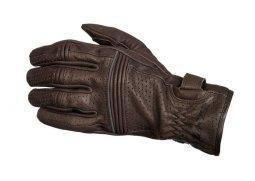 7d15497c5e9 Racer City Lady dámské hnědé kožené rukavice na motorku