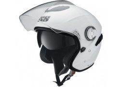 IXS HX 91 jet bílá otevřená přilba se sluneční clonou na motorku a scooter ab10093bb05
