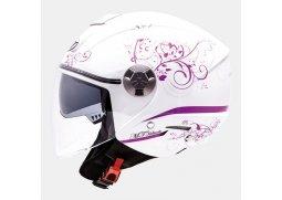 Otevřené moto helmy a přilby pro motorkáře a motorkářky  164cdb18289