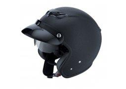 IXS HX 87 CRACKLE černá matná otevřená jet helma se sluneční clonou a 3D  designem na 0f125bb2937