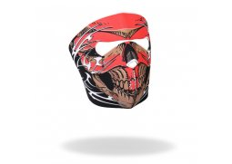 "Maska na obličej Hot Leathers ""Red Skull Tribal"""